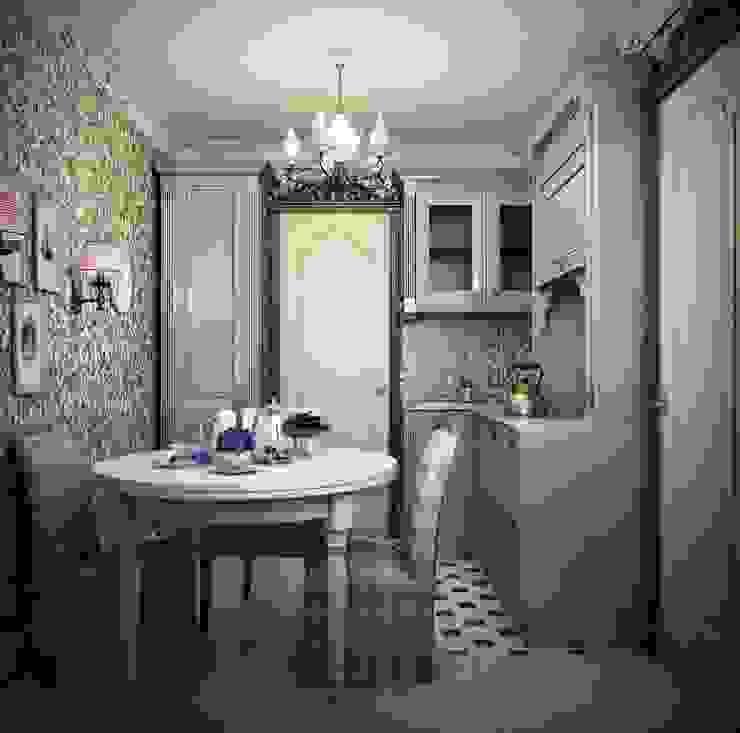 Marina Sarkisyan Eclectic style kitchen