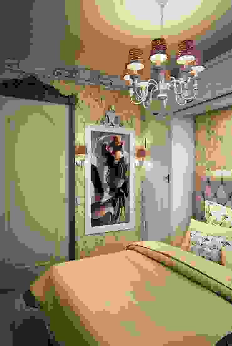 Marina Sarkisyan Kamar Tidur Gaya Eklektik