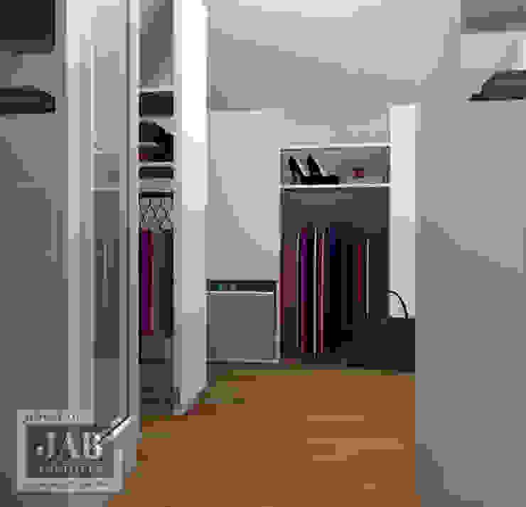 3D visualisatie inloopkast van House of JAB by Verstappen Interiors