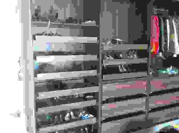 shoe drawers: modern  by Designer Vision and Sound: Bespoke Cabinet Making, Modern
