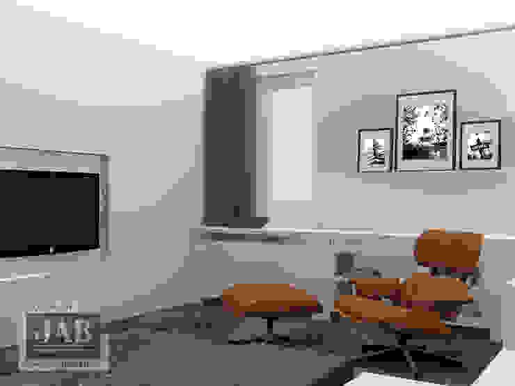 3D visualisatie living beeld 2 van House of JAB by Verstappen Interiors