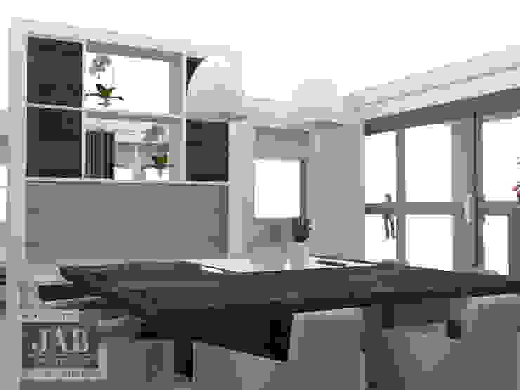 Maatwerk tv meubel achterzijde 3D visualisatie van House of JAB by Verstappen Interiors
