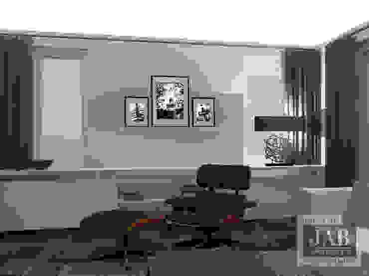3D visualisatie living van House of JAB by Verstappen Interiors