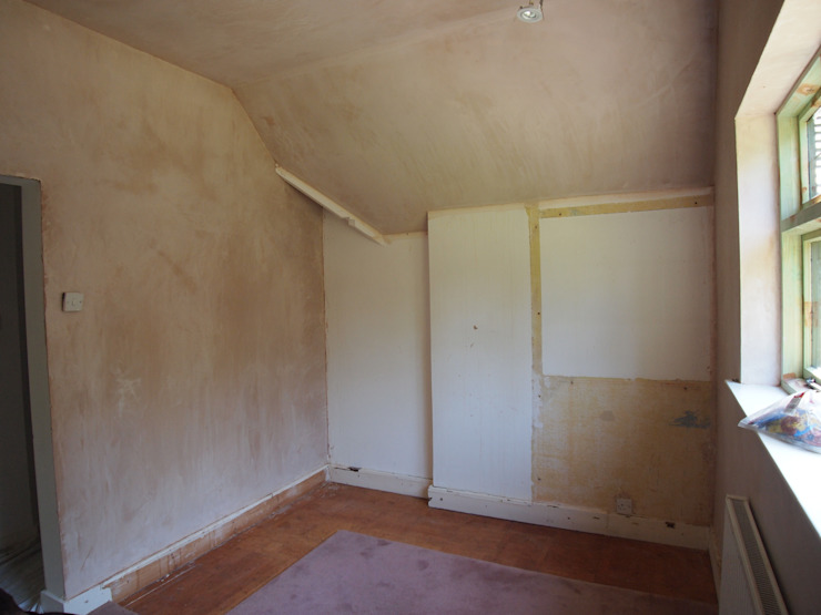 Before picture Modern dressing room by Designer Vision and Sound: Bespoke Cabinet Making Modern