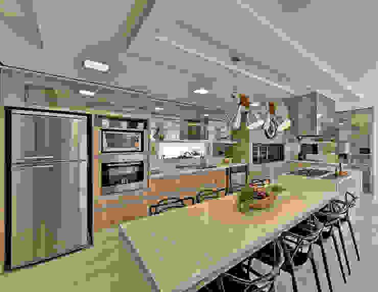 Moderne Küchen von Espaço do Traço arquitetura Modern