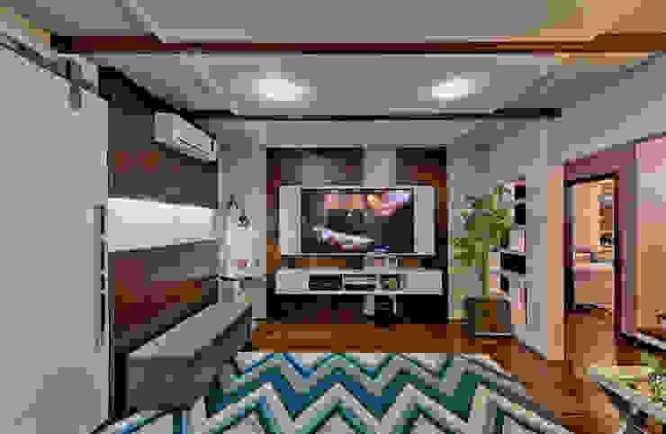 Modern media room by Espaço do Traço arquitetura Modern