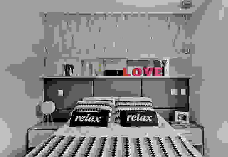 Dormitorios de estilo  por Espaço do Traço arquitetura