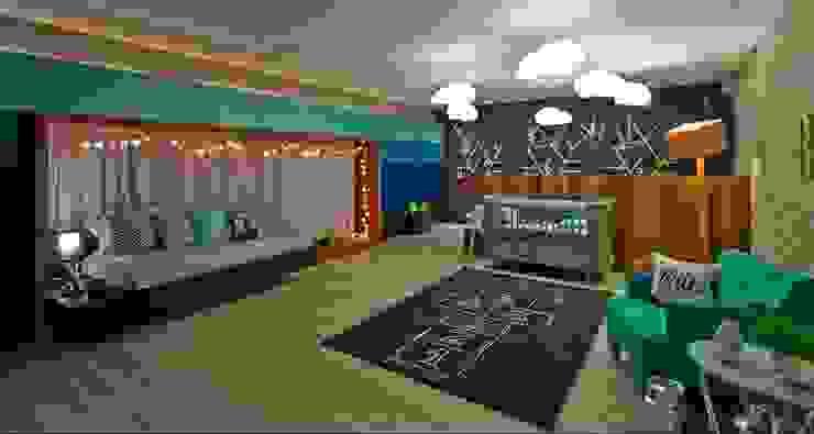 Dormitorios infantiles de estilo moderno de Espaço do Traço arquitetura Moderno