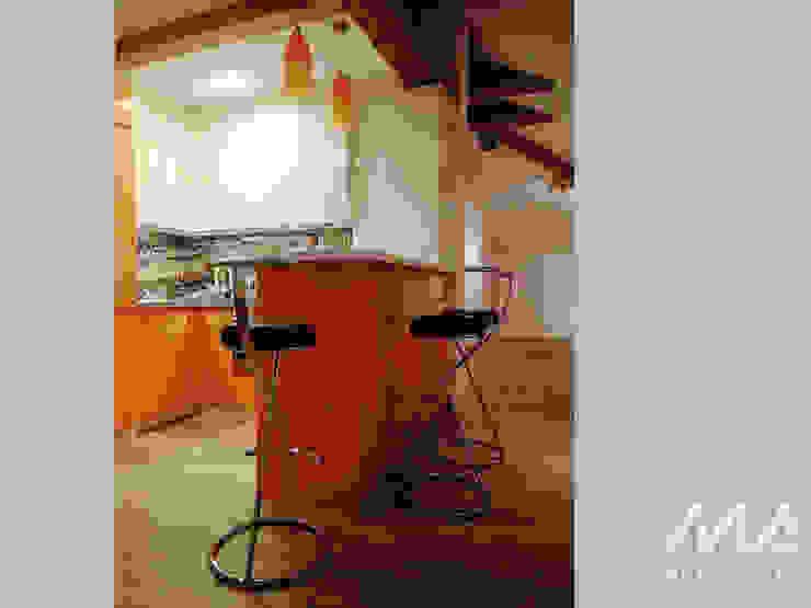 Mleczko architektura Cocinas modernas
