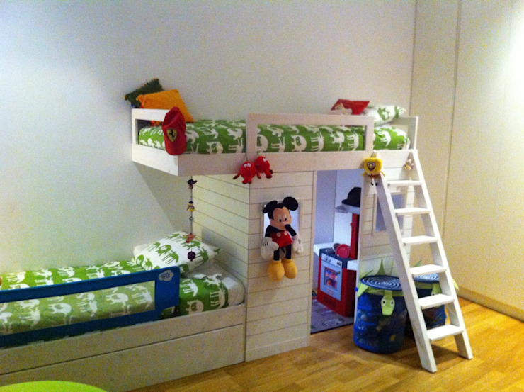 Proyectos y Mobiliario Dormitorios infantiles de estilo moderno de DEKMAK interiores Moderno