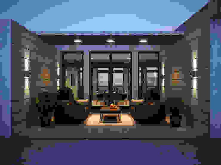 Roof apartment Балкон и веранда в стиле лофт от Виталий Юров Лофт