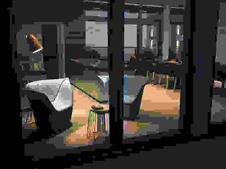 Виталий Юров Industrial style living room