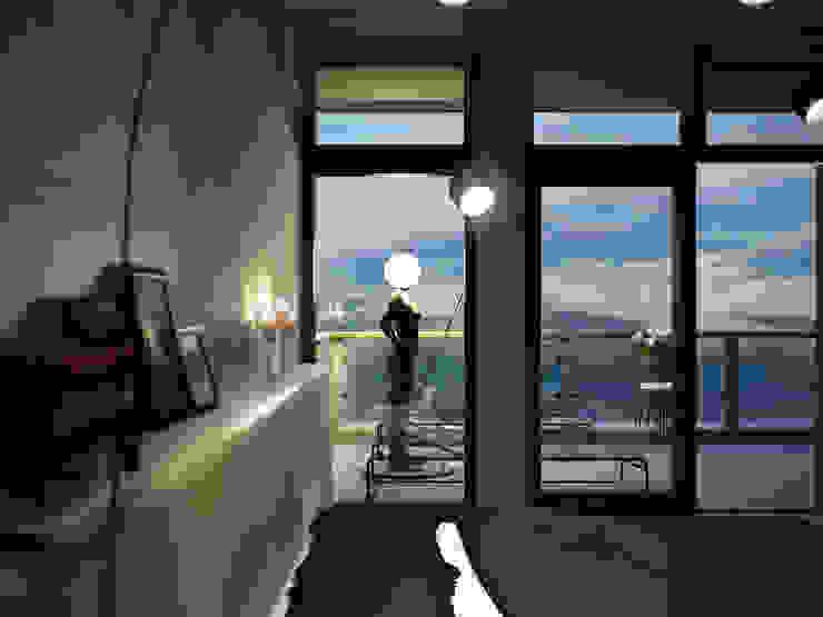 Roof apartment Спальня в стиле лофт от Виталий Юров Лофт