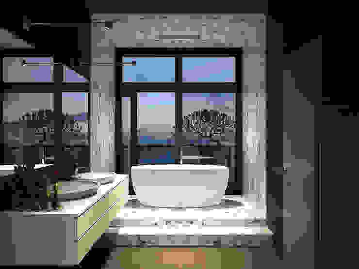 Виталий Юров Industrial style bathroom