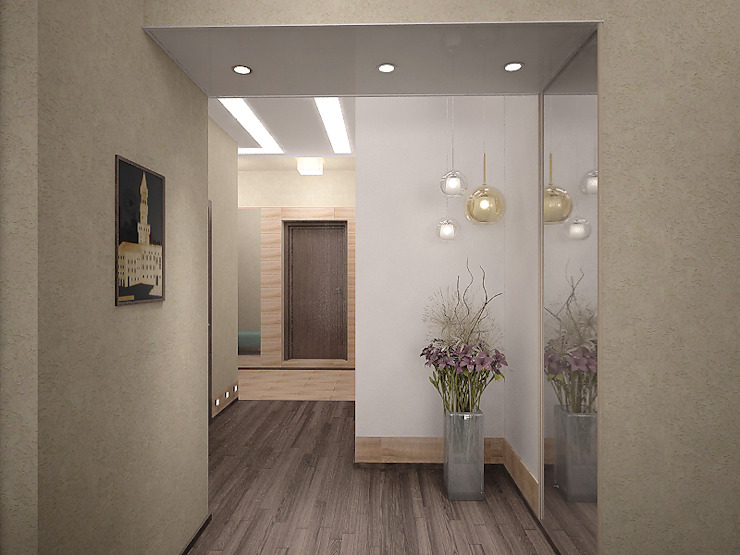 Холл Стены и пол в стиле минимализм от Арте Минимализм