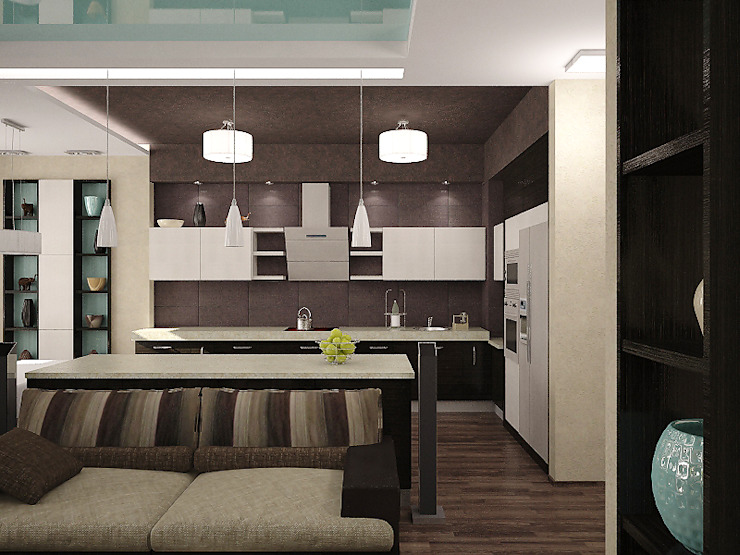Кухня Кухня в стиле минимализм от Арте Минимализм
