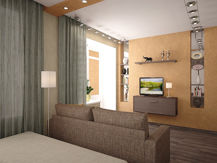 Спальня Спальня в стиле минимализм от Арте Минимализм