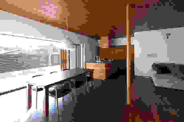 中山町の家: 深山知子一級建築士事務所・アトリエレトノが手掛けたダイニングです。,モダン