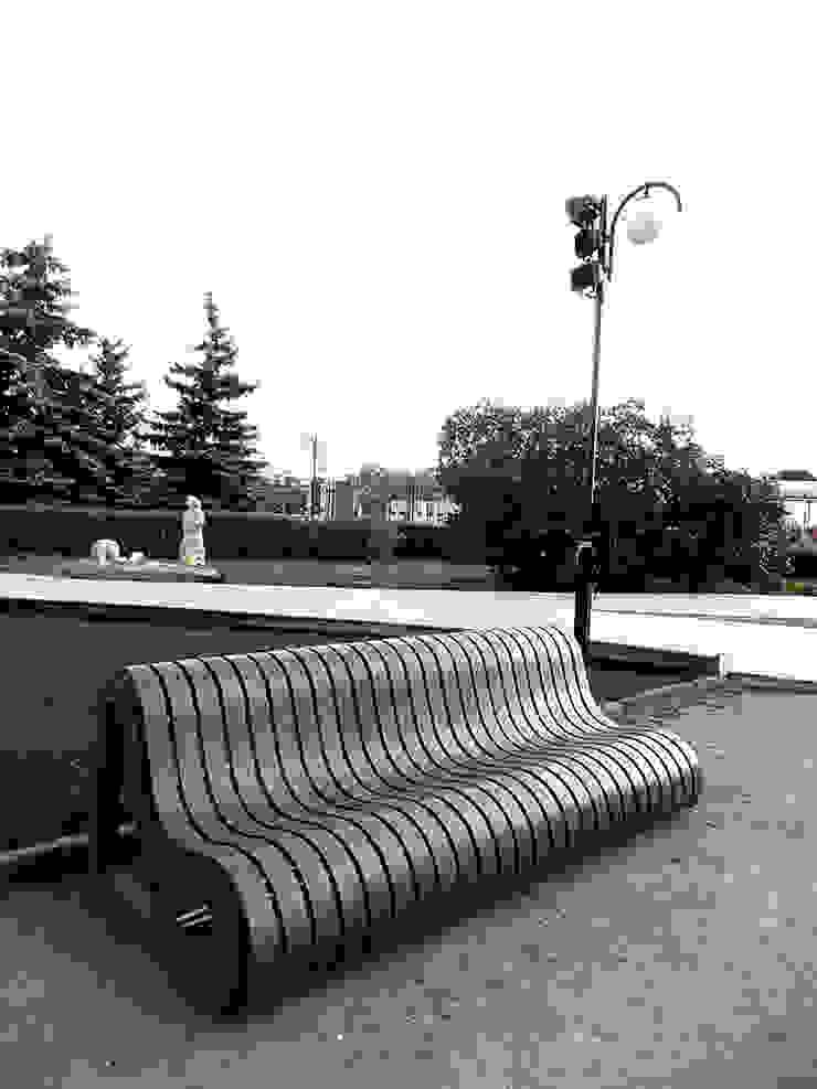 Лавки для парка искусств Музеон Сад в стиле минимализм от Fineobjects Минимализм