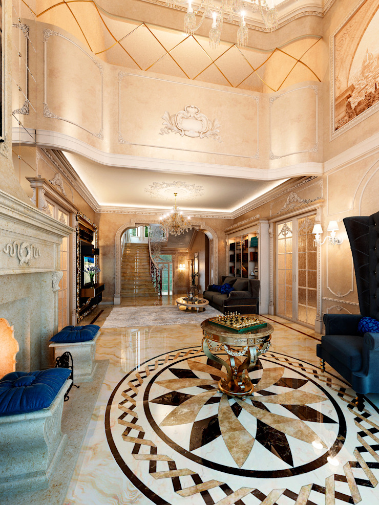 Гостиная Гостиная в классическом стиле от Y&S ARCHITECTURE – INTERIOR DESIGN Классический