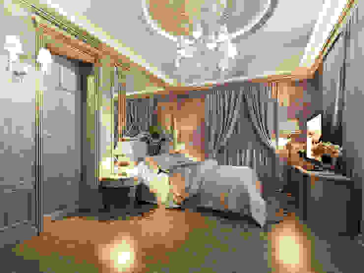 Главная спальня Спальня в классическом стиле от Y&S ARCHITECTURE – INTERIOR DESIGN Классический