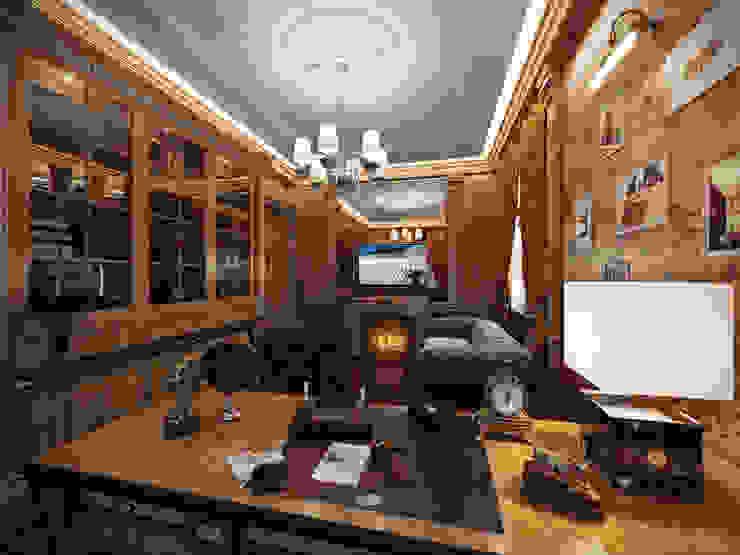 Кабинет Рабочий кабинет в классическом стиле от Y&S ARCHITECTURE – INTERIOR DESIGN Классический