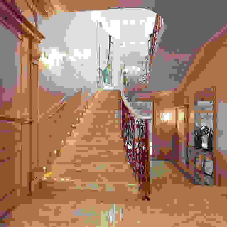Лестничный холл Коридор, прихожая и лестница в классическом стиле от Y&S ARCHITECTURE – INTERIOR DESIGN Классический