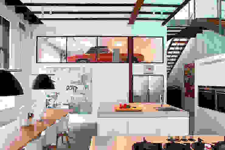 Schelpstraat Den Haag Moderne keukens van Architectenbureau Filip Mens Modern