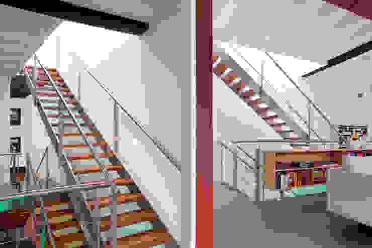 Schelpstraat Den Haag Moderne gangen, hallen & trappenhuizen van Architectenbureau Filip Mens Modern