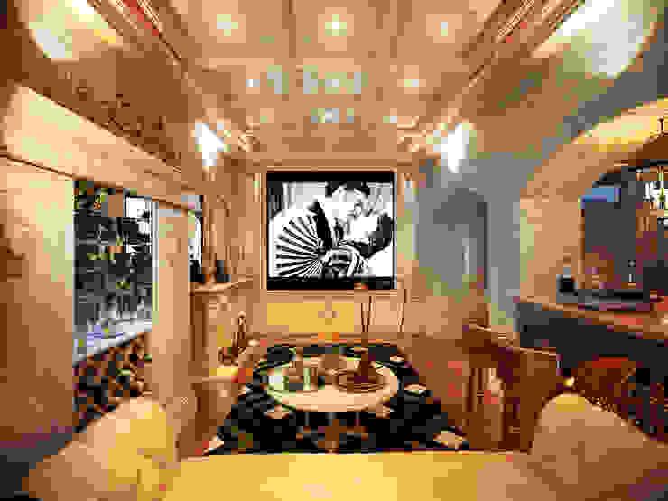 Кинозал Медиа комната в классическом стиле от Y&S ARCHITECTURE – INTERIOR DESIGN Классический