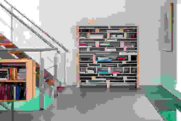 Schelpstraat Den Haag Moderne woonkamers van Architectenbureau Filip Mens Modern