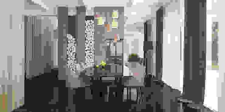 столовая Столовая комната в стиле минимализм от Tatiana Shishkina Минимализм
