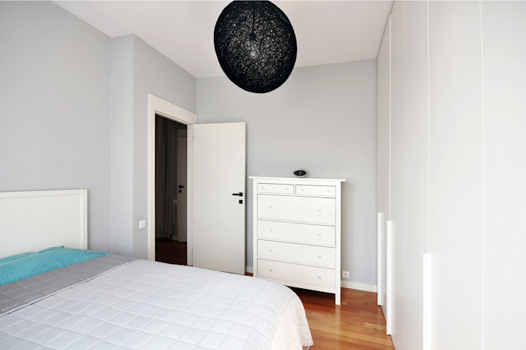 NBArchitects Scandinavian style bedroom