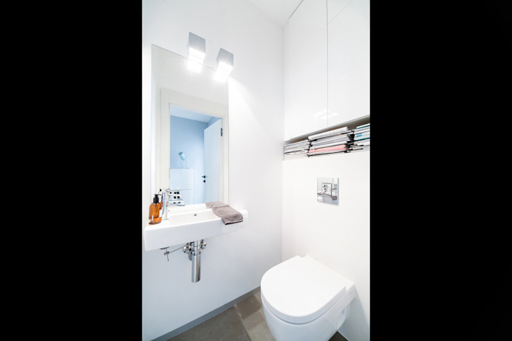 NBArchitects Scandinavian style bathroom