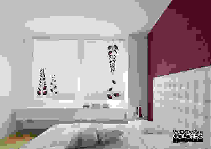 Ambientes actuales de La Ventana de Colores Dormitorios de estilo mediterráneo de LA VENTANA DE COLORES Mediterráneo