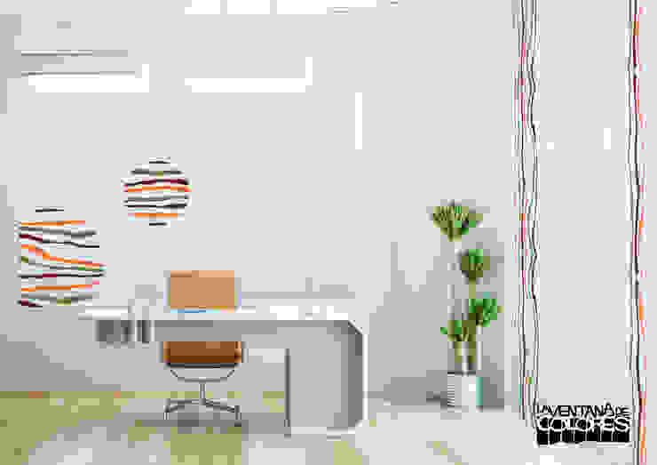 Ambientes actuales de La Ventana de Colores Edificios de oficinas de estilo moderno de LA VENTANA DE COLORES Moderno