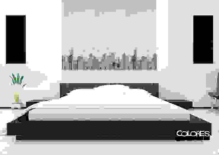 LA VENTANA DE COLORES Chambre minimaliste