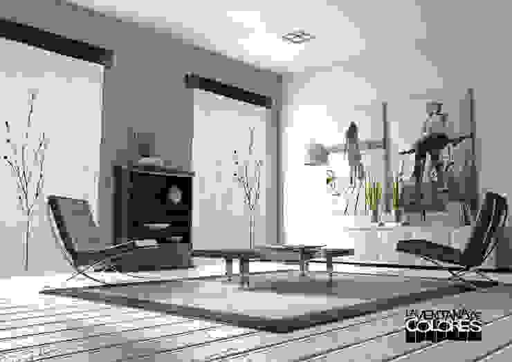 Salas de estilo  por LA VENTANA DE COLORES, Industrial