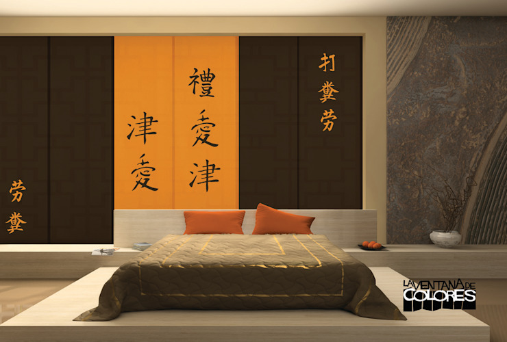 Bedroom by LA VENTANA DE COLORES, Asian