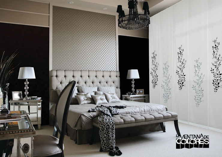 Chambre de style  par LA VENTANA DE COLORES