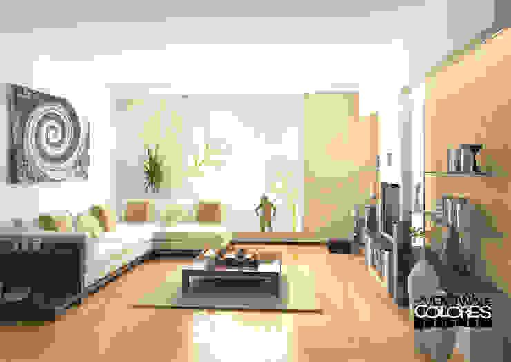 LA VENTANA DE COLORES Salon moderne