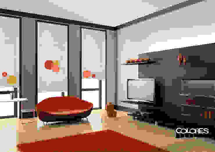 Salas de estilo minimalista de LA VENTANA DE COLORES Minimalista