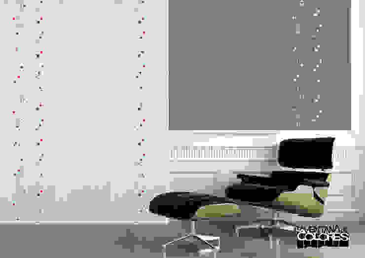 LA VENTANA DE COLORES Salon minimaliste