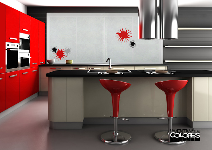 Cozinhas modernas por LA VENTANA DE COLORES Moderno