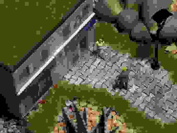 MyHobbyMarket & Peri Bahçem – Kurumsal Minyatür Bahçe : minimalist tarz , Minimalist