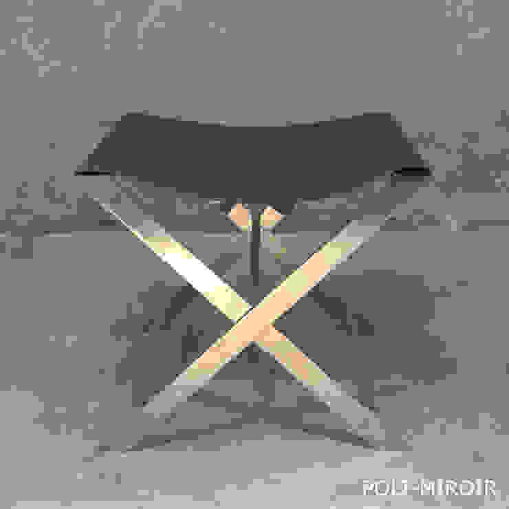 X STOOL – GREY par By Ultra Moderne