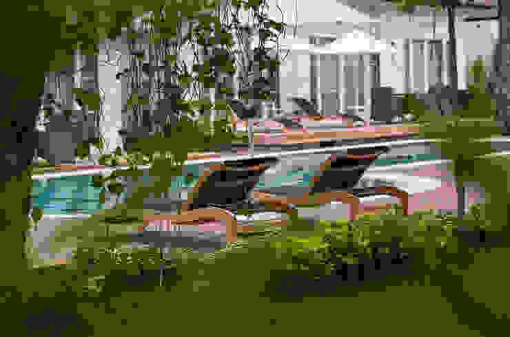 Lagoon Villas Pool Akdeniz Bahçe Nota Tasarım Peyzaj Mimarlığı Ofisi Akdeniz