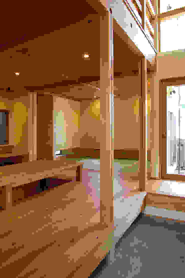 新・鎌・家 オリジナルデザインの リビング の 環境創作室杉 オリジナル
