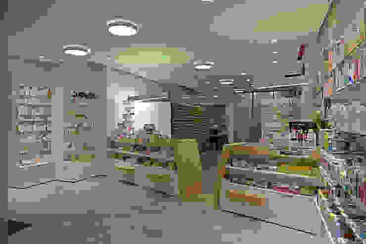 HDR-Officin Moderne Ladenflächen von Architekturbüro Buhrdorf Modern