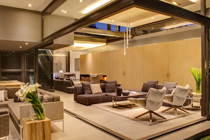 House Sar Modern houses by Nico Van Der Meulen Architects Modern